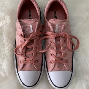 Pink Converse Shoes 👟